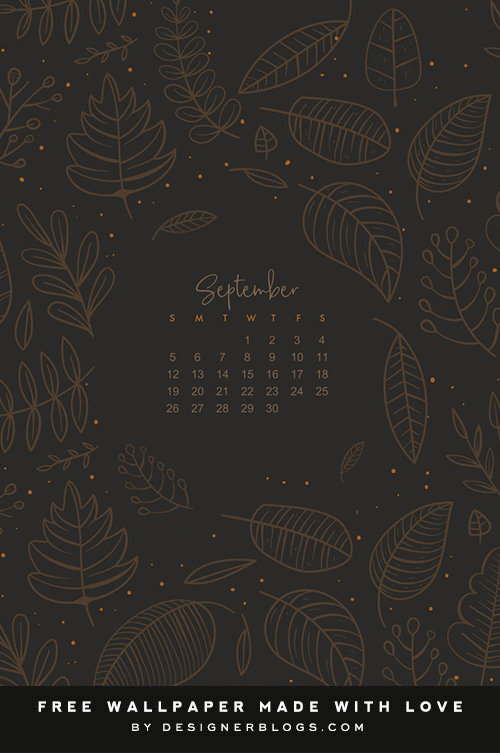 Free September 2021 Wallpaper & Instagram quote