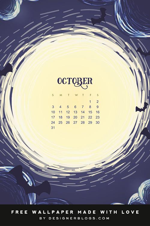 Free October 2021 Wallpaper & Instagram quote