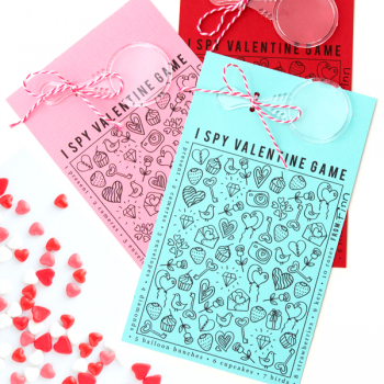 I Spy Valentine Game Free Printable