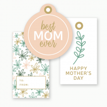 Free Mother's Day Tags