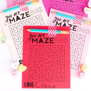 Free Prinatble Valentine's Game