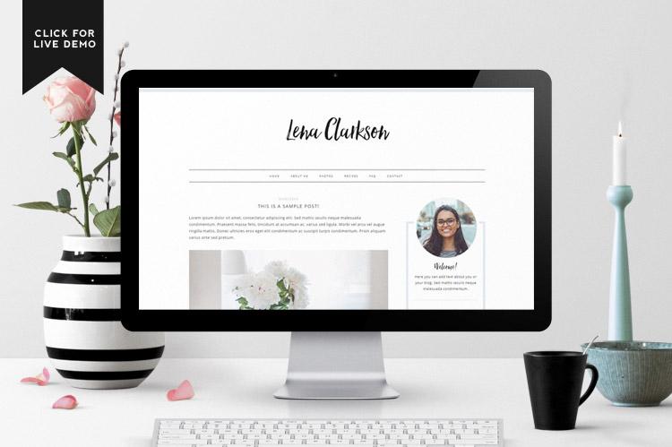 Lena Blogger Template